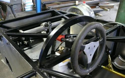 Steering Wheel and Rack