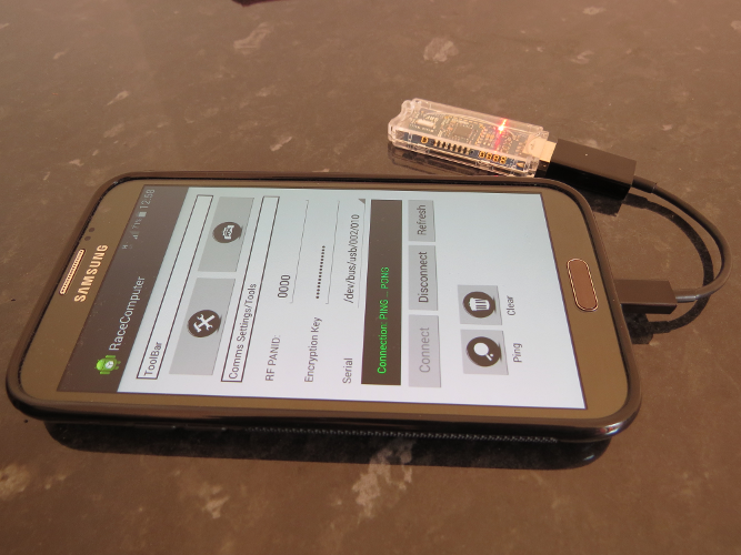 Android App with SRF Stick